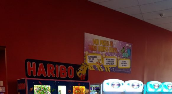 Haribo At Superbowl Widnes.