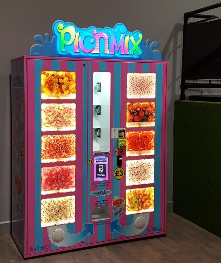 Pic N Mix Vending machine Jump Street Chelmsford.