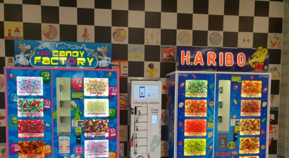 Crazy Candy Factory, Haribo Sweet Vending machine