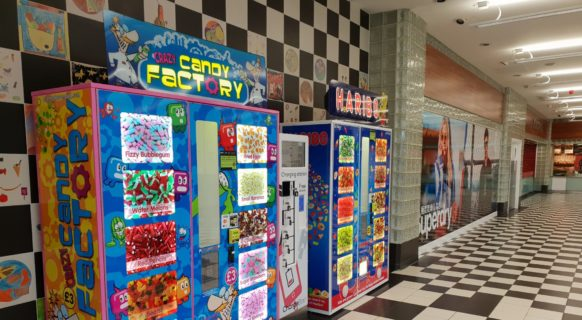 Haribo and Crazy Candy Factory by Blue Monkey Vending