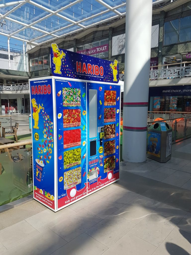 Haribo Vending Machine