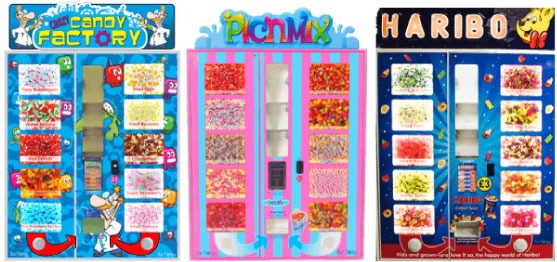 Sweets Vending Machines
