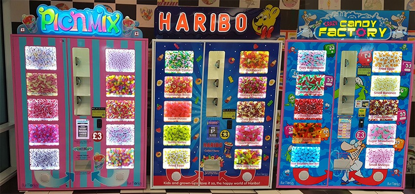 Pic n Mix, Haribo, Crazy Candy Factory