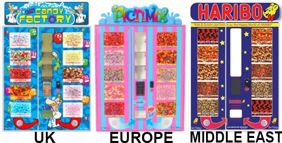 Crazy Candy Factory Picnmix Haribo 600n