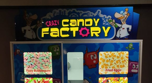 Valley Crazy Candy Factory Vending Machine - Blue Monkey Vending