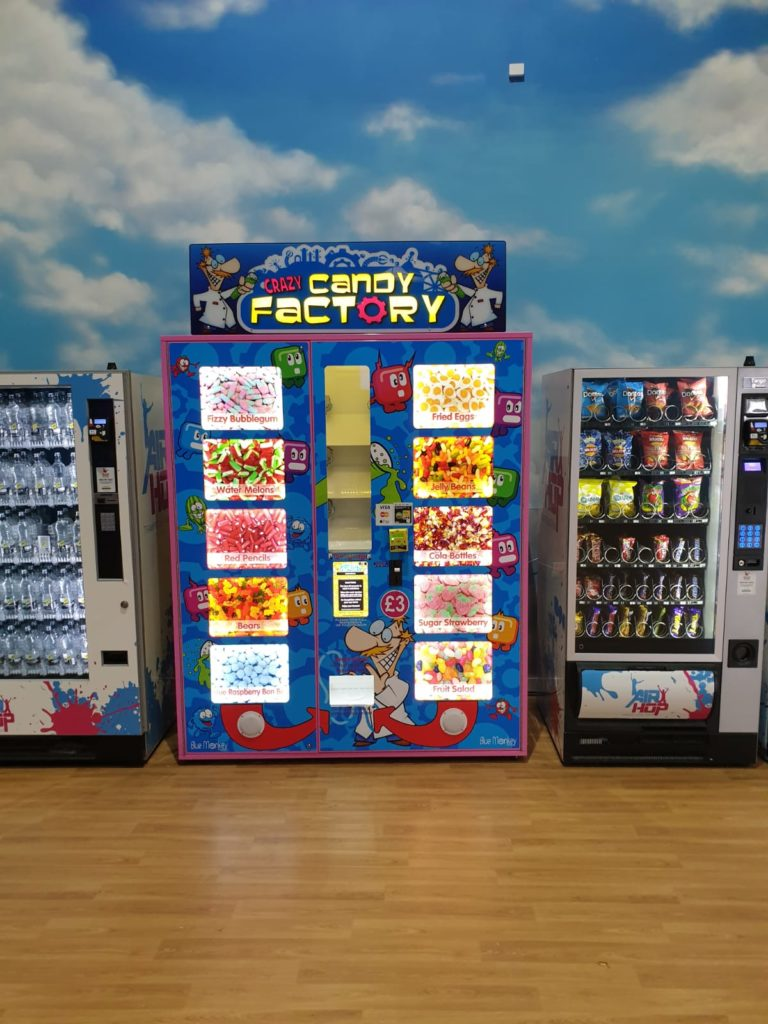 Airhop Crazy Candy Factory